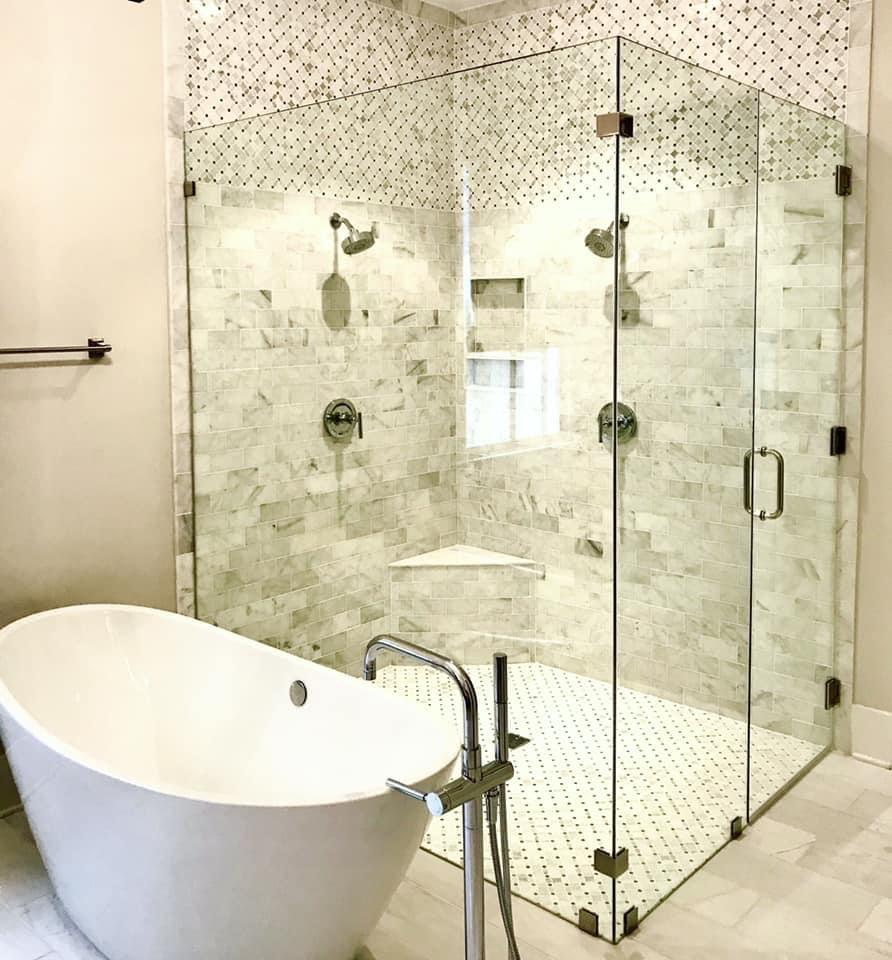 Glass Bathroom Walls